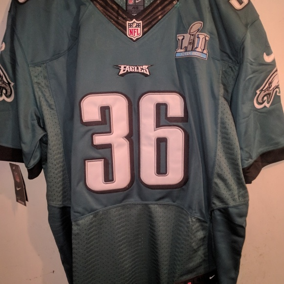 sports shoes 773fe 24eaf Jay Ajayi Eagles Jersey w/ Super Bowl Patch NWT
